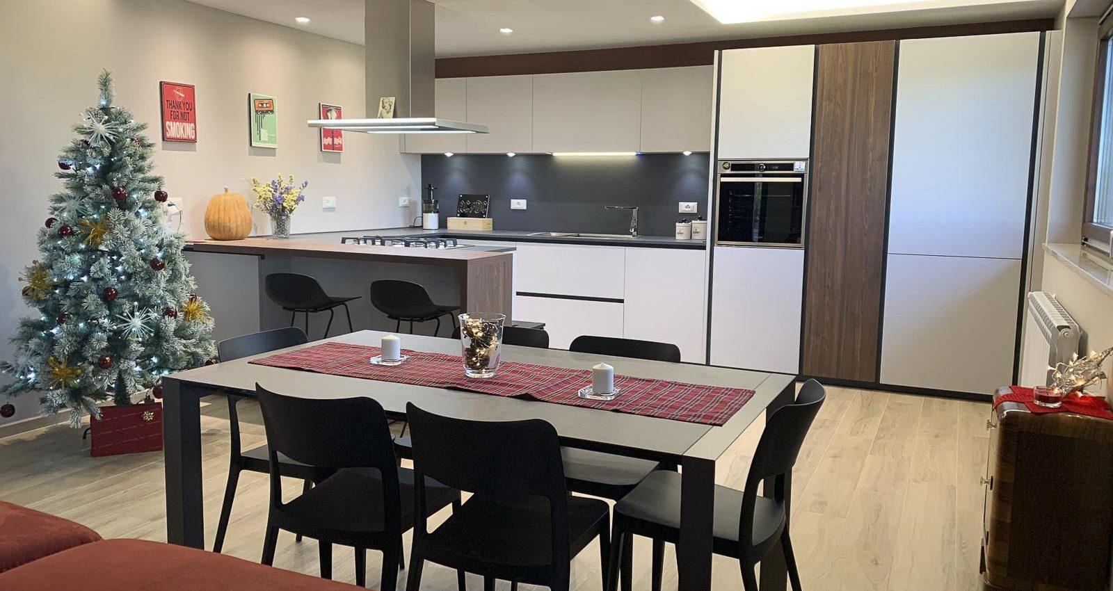 Cucina Creo e Interior Design Zona Living3