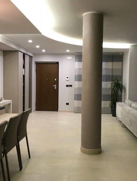 Zona living Doimo salotto camera da letto Novamobili