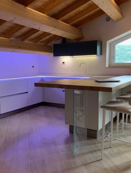 Progetto Cucina Creo Kitchens Modello Rewind